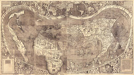 The Waldseemller Map Charting the New World  History  Smithsonian
