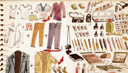 Packing List Series, Part 2: An Artist's Illustrated Guide