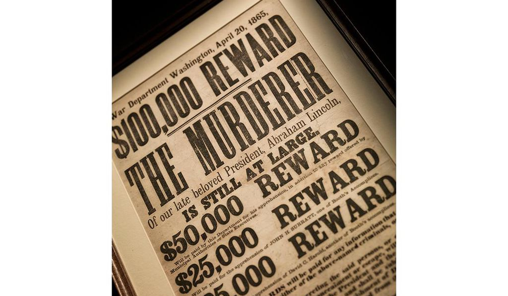War Secretary Stanton proclaimed a $100,000 reward for the capture of Booth.