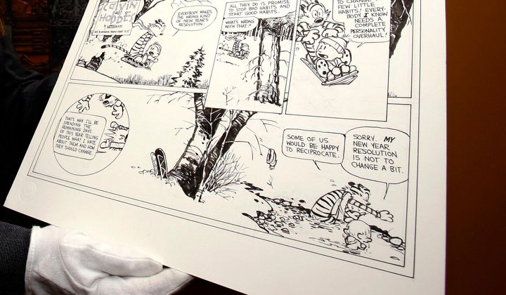 <i>Calvin and Hobbes</i> Artfully Deconstructed
