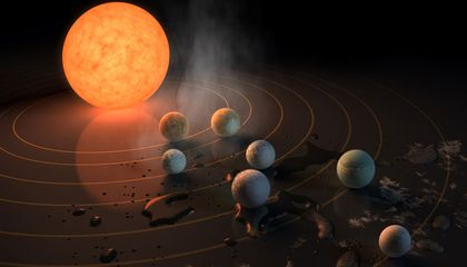 Scientists Spot Seven Earth-Sized Planets Orbiting a Nearby Star