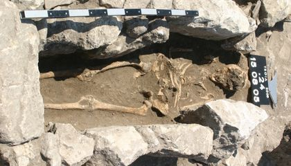 "Remains From 800-Year-Old ""Trojan Woman"" Record Early Maternal Infection"