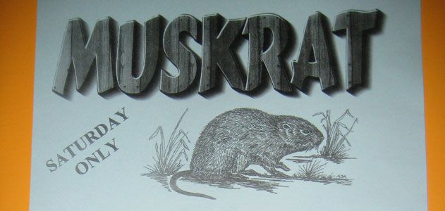 Muskrat on the menu