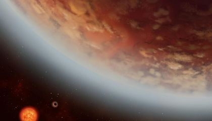 Water Vapor Detected in the Atmosphere of an Exoplanet in the Habitable Zone
