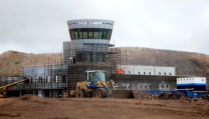 Tiny, Remote St. Helena Gets Its First Airport