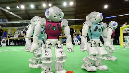 RoboCup: Building a Team of Robots That Will Beat The World Cup Champions