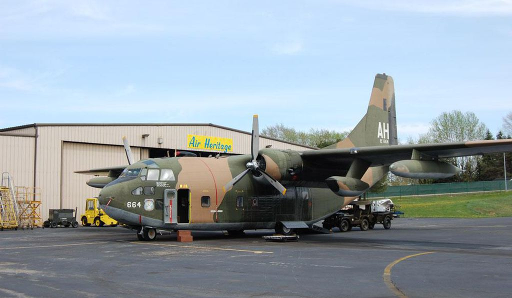 The producers of <i>American Made</i> borrowed this C-123 from the Air Heritage Museum in Beaver County, Pennsylvania.