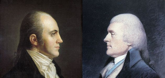 Thomas Jefferson Aaron Burr And The Election Of 1800 History