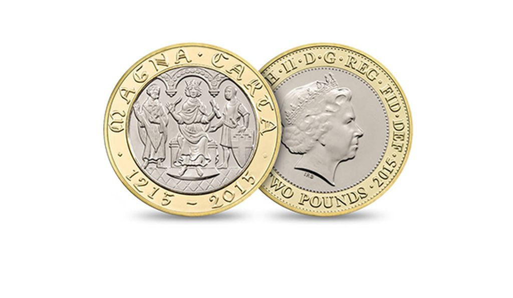 A commemorative coin by the Royal Mint continues to perpetuate a Magna Carta myth that's just a little misleading.