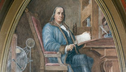 Image: Benjamin Franklin was the first to chart the Gulf Stream