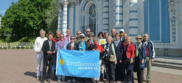 Smithsonian travelers in the Baltics
