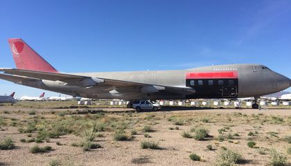 Where Do the Largest Airplanes Go to Die?