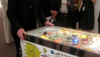 William Wiley Opens His Show at the American Art Museum with Pinball