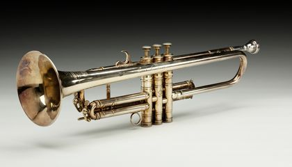 Trumpet owned by Louis Armstrong, 1946, Collection of the Smithsonian National Museum of African American History and Culture