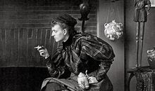 Frances Benjamin Johnston self portrait