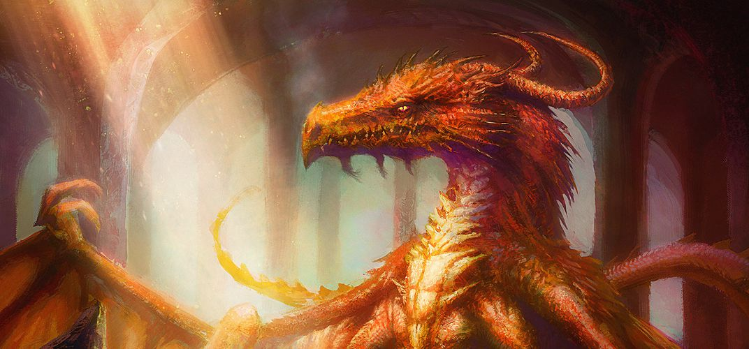 Caption: Smaug the Dragon's Deep Roots in Real Mythology
