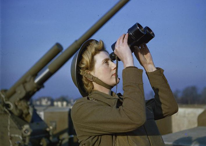 Caption: Check Out These Rare Color Images of World War II