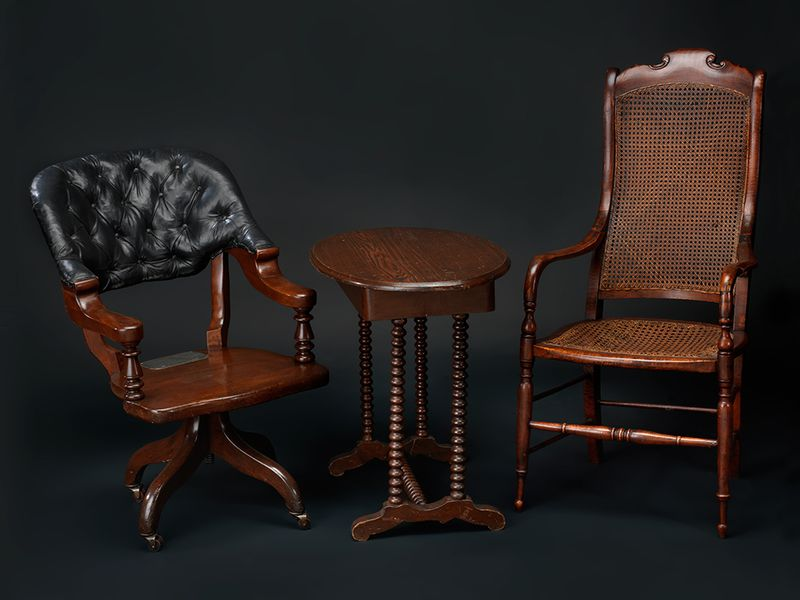 Chairs from Appomattox