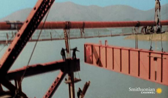Preview thumbnail for video'30 Workers Fell While Building the Golden Gate Bridge