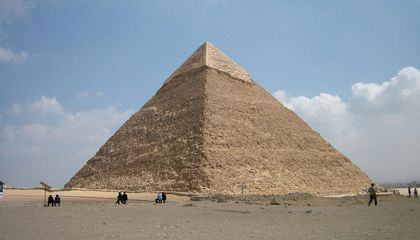 Archaeologists Detect Two Previously Unknown Cavities Beneath Giza's Great Pyramid