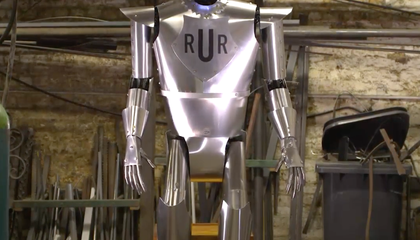Britain's First Robot Lives Again