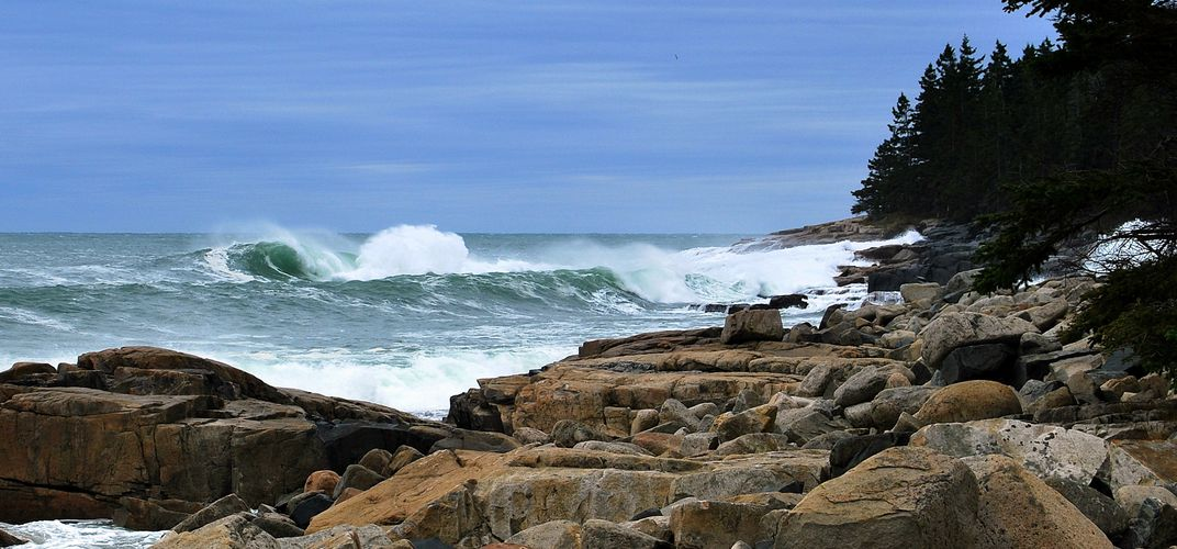 Schoodic area of Acadia National Park, Maine. Credit: Courtesy Maine Tourism Bureau
