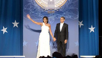 Official Smithsonian Word on Michelle Obama's Inaugural Gown