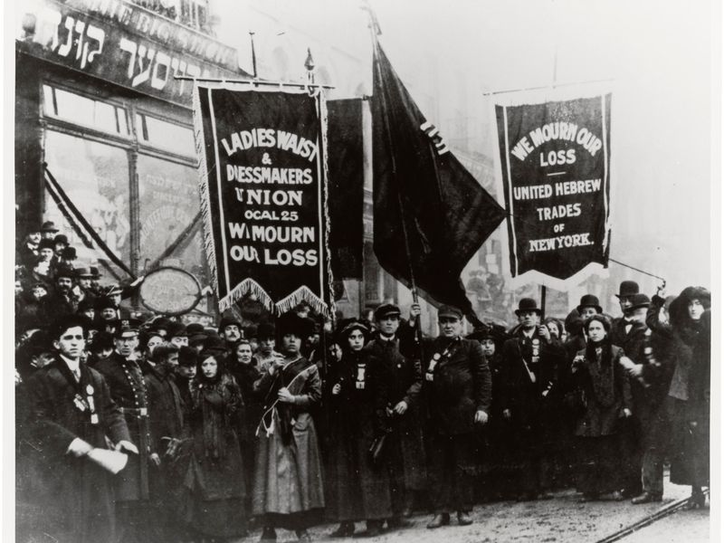 Triangle Shirtwaist Factory Protest