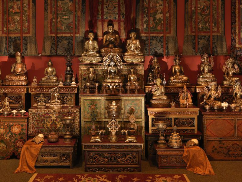 National Museum of Asian Art Tibetan Buddhist Shrine Room