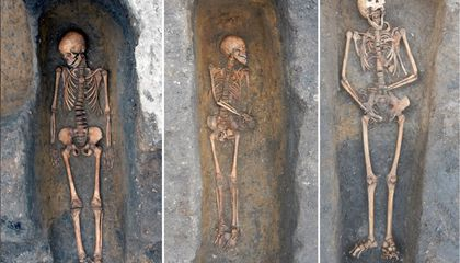Why Weren't These Black Death Victims Buried in Mass Graves?