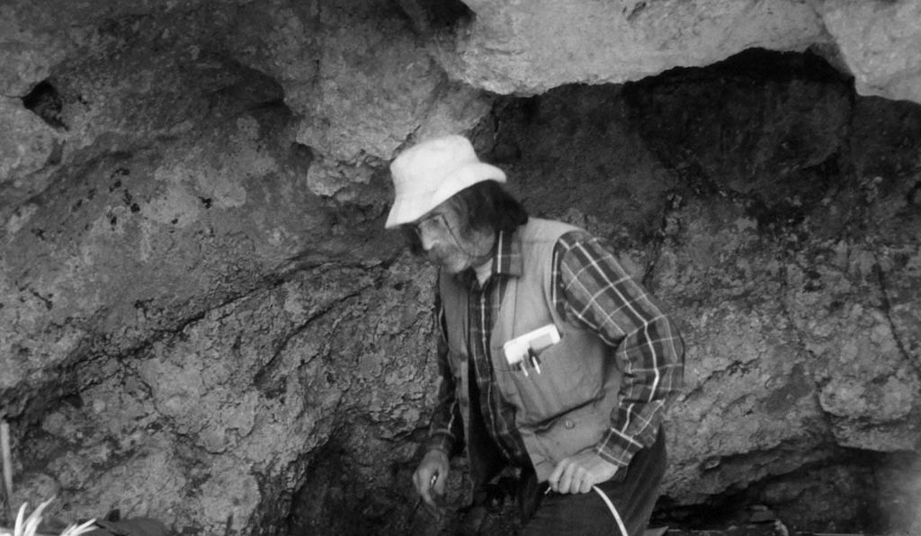 When Jacques Cinq-Mars, shown here in the 1990s, tried presenting evidence from Bluefish Caves at conferences, many archaeologists tuned out. Some even laughed. The idea of a pre-Clovis people in the Americas seemed unfathomable to many at the time.