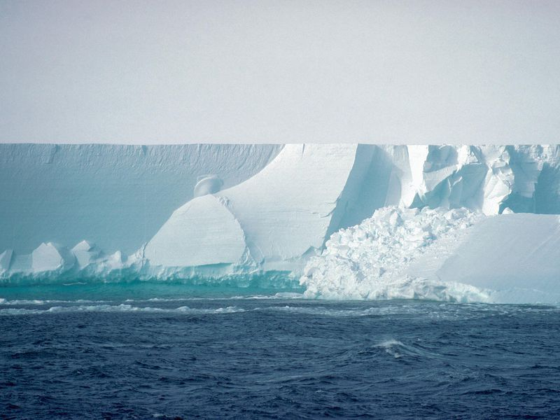 facts about Antarctica: Ross Ice shelf