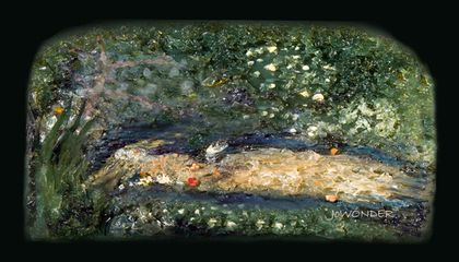 Picture of the Week—Ophelia (Microbial Art)