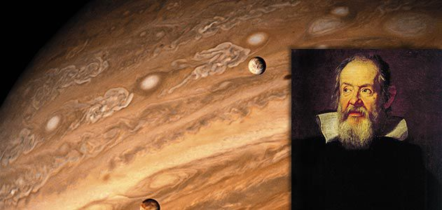 galileo s revolutionary vision helped usher in modern astronomy  galileo and jupiter moons ""