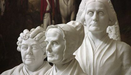 The Suffragist Statue Trapped in a Broom Closet for 75 Years