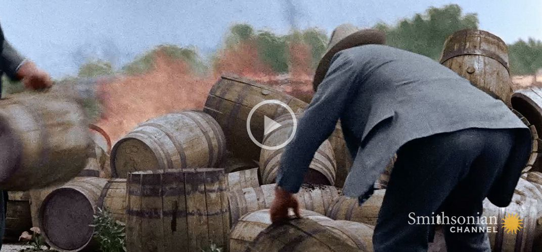 Caption: Americans Found a Loophole in the Prohibition Act
