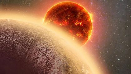 Atmosphere Detected Around an Earth(ish)-Sized Planet