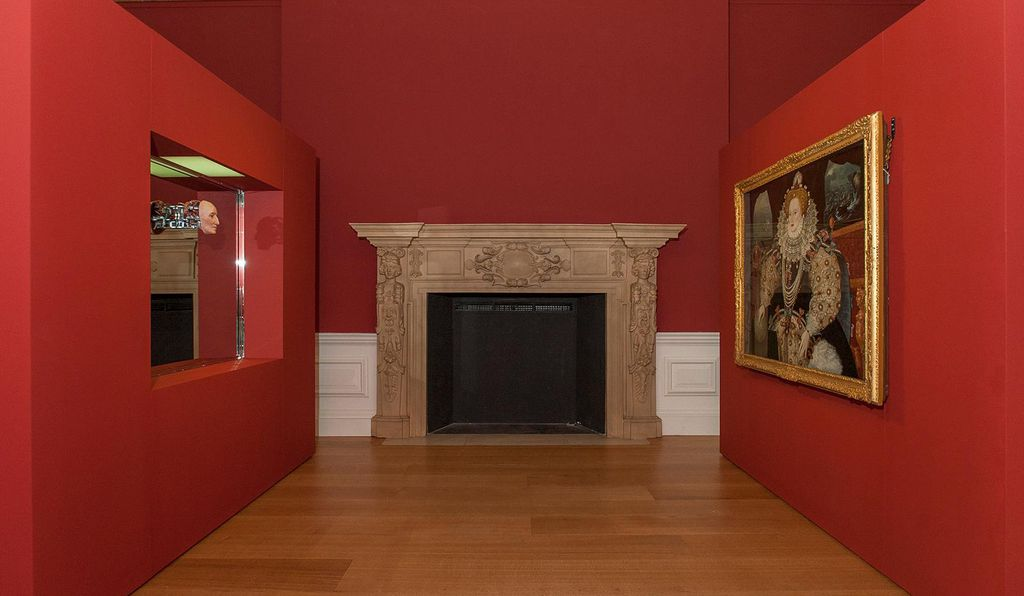 The two Elizabeths are placed face-to-face at the Queen's House in Greenwich