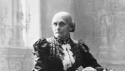 In 1872, Susan B. Anthony Was Arrested for Voting 'Unlawfully'