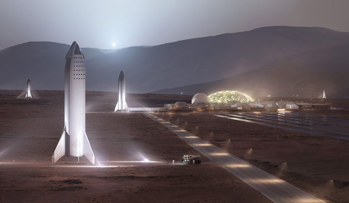 A Million People on Mars May Not Be Impossible