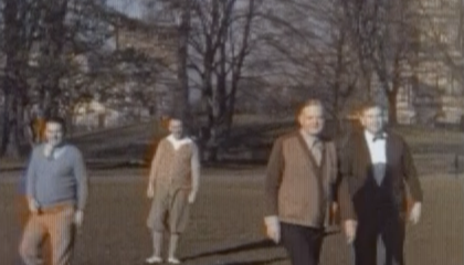Newly Discovered Color Movies Show Herbert Hoover's Softer Side