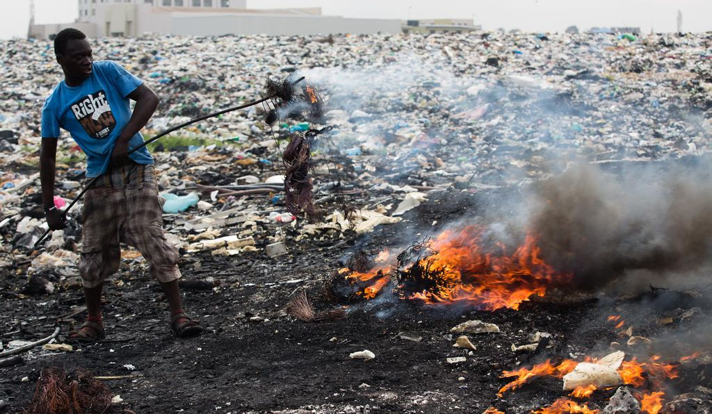 The Burning Truth Behind an E-Waste Dump in Africa | Science