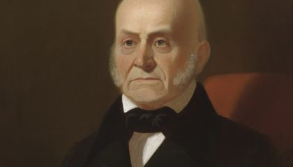 John Quincy Adams Kept a Diary and Didn't Skimp on the Details