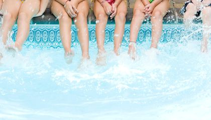 Urine (Not Chlorine) Causes Red Eyes in Pools