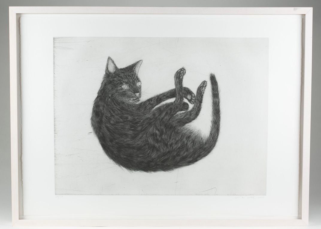 a massive collection of cat art is up for auction smart news