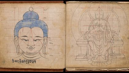 """The """"Tibetan Book of Buddhist Proportions"""" Show Exactly How to Draw the Buddha"""