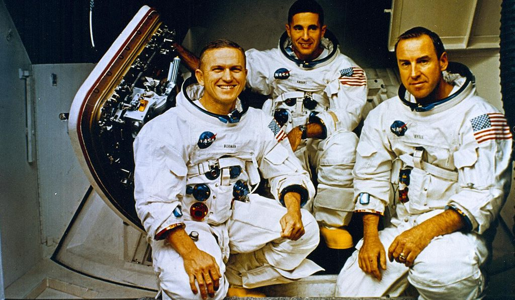 Frank Borman, Bill Anders and James Lovell relied on nearly perfect performance from computers and engines to take them to the moon, into lunar orbit, back toward Earth, and through a thin slice of atmosphere to splash down in the Pacific.