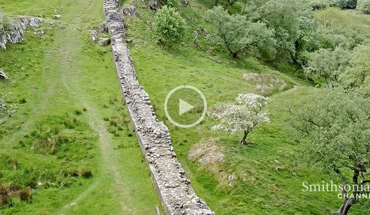 The Roman Wall That Split Britain Into Two Parts