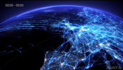 See Every Plane Criss-Crossing Europe in This Weirdly Beautiful Video of Flight Paths