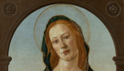 An Unidentified Botticelli Painting Spent Decades Hidden in Welsh Museum's Storeroom